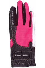 Harry Hall Lockton Riding Gloves Pink