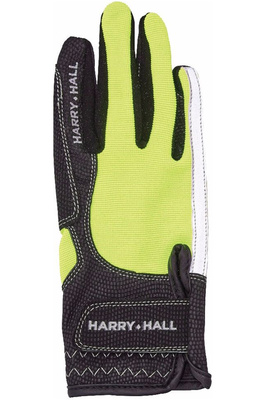 Harry Hall Lockton Riding Gloves Yellow