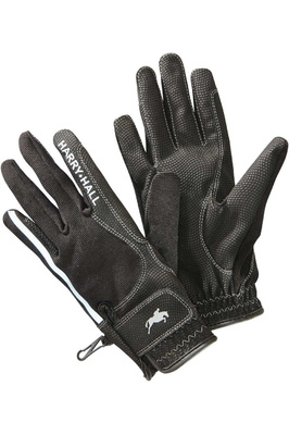Harry Hall Lockton Riding Gloves Black