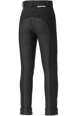 Harry Hall Childrens Chester Sticky Bum II Breeches Black