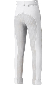 Harry Hall Childrens Chester Sticky Bum II Breeches White