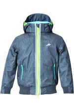 Harry Hall Childrens TEX Jacket Hartland Waterproof Dark Grey