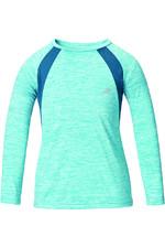 Harry Hall Childrens Tex Sandsend UV Base Layer Turquoise