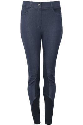 Harry Hall Womens Berkley Tex Breeches Denim