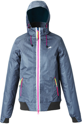 Harry Hall Womens TEX Jacket Vale Waterproof Dark Grey