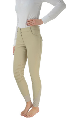 HyPerformance Womens Thermal Softshell Breeches - Beige