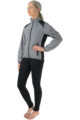 HyVIZ Womens Silva Flash Reflective Jacket - Reflective Silver