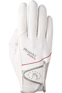 Roeckl Madrid Riding Gloves White