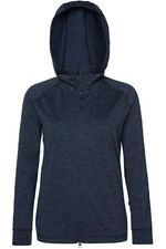 Mountain Horse Womens Laura Tech Fleece Blue Melange