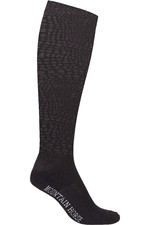 Mountain Horse Womens Croc Socks Double Pack - Black / Pink