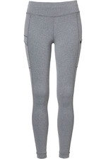 Mountain Horse Womens Flora Full Seat Tech Tights - Grey Melange