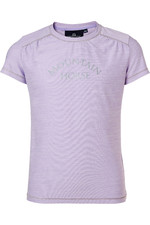 Mountain Horse Childrens Elsa Tech Tee - Summer Lilac
