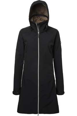 Mountain Horse Womens Stella Softshell Parka Jacket Black