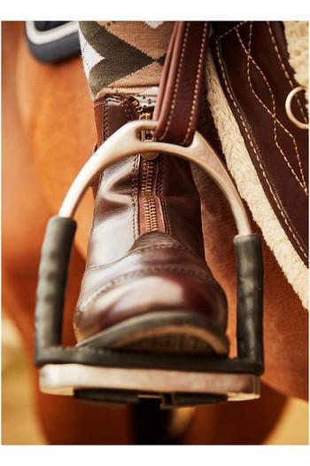 Mountain Horse Womens Aurora Front Zip Paddock Boots Brown