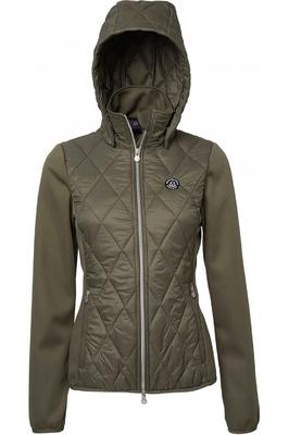 Mountain Horse Womens Cristal Hybrid Jacket - Khaki Beige