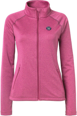 Mountain Horse Womens Holiday Fill Zip Tech Fleece Pink