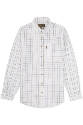 Musto Classic Button Down Shirt Farlan Worsted