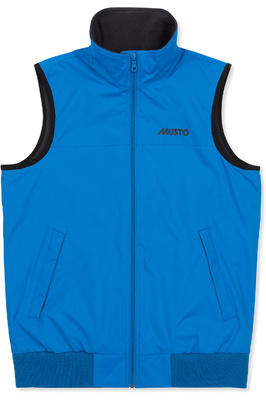 Musto Womens Snug Gilet Brilliant Blue