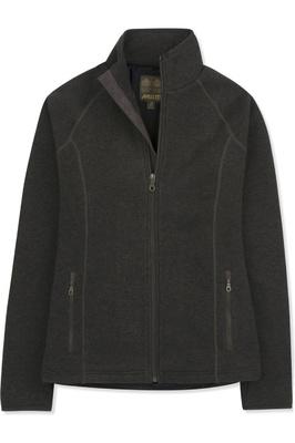 Musto Womens Super Warm Polartec Windjammer Fleece Jacket Liquorice