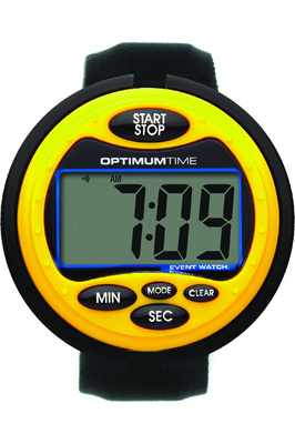 Optimum Time OE Series 3 Equestrian Event Watch - Yellow
