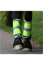 2021 Equisafety Polite Horse Leg Wraps POLLEG - Yellow