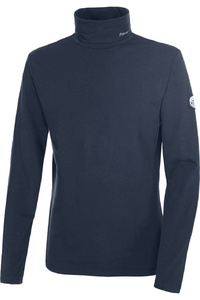 Pikeur Mens Simon Polo Neck Pullover Top Navy