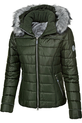 Pikeur Womens Amal Quilted Jacket Pine Green