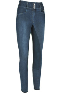 Pikeur Womens Candela Jeans Breeches Denim Blue