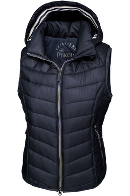 Pikeur Womens Celia Hooded Gilet Navy