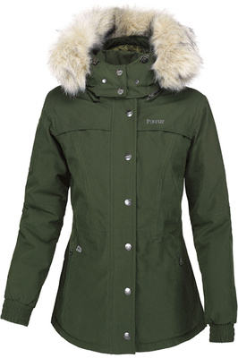 Pikeur Womens Dea Short Parka Jacket Pine Green
