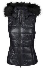 Pikeur Womens Kea Quilted Gilet - Graphite Blue
