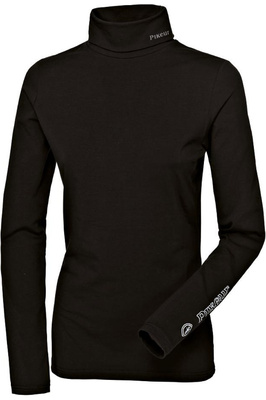 Pikeur Womens Sina Polo Neck Pullover Top Black