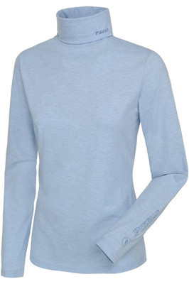 Pikeur Womens Sina Polo Neck Pullover Top Sky Blue