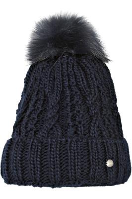 Pikeur Womens Bobble Hat Navy