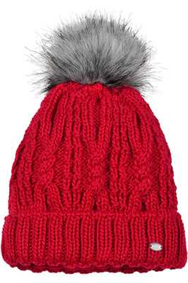 Pikeur Womens Bobble Hat Bright Red