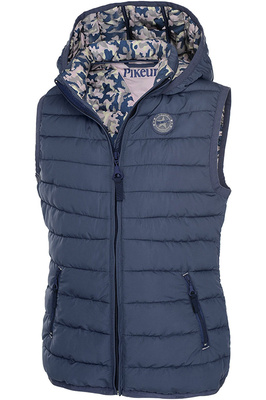 Pikeur Junior Girls Maja Quilted Gilet Navy