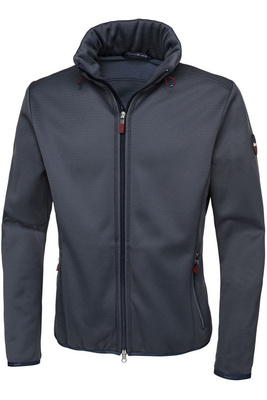 Pikeur Mens Bajan Fleece Jacket Shadow Blue