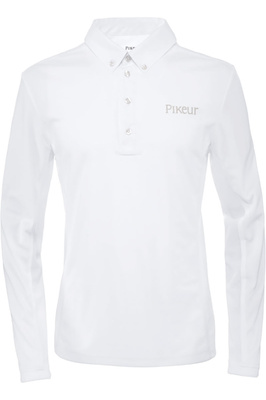 Pikeur Mens Resa Competition Shirt White