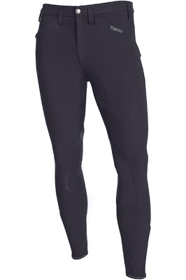 Pikeur Mens Rodrigo Grip Breeches Dark Shadow
