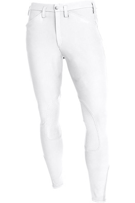 Pikeur Mens Rodrigo Grip Breeches White