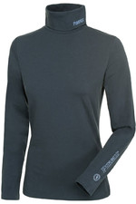 Pikeur Womens Sina Polo Neck Base Layer Anthracite