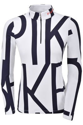 Pikeur Womens Lady Limited Edition Base Layer - White / Print