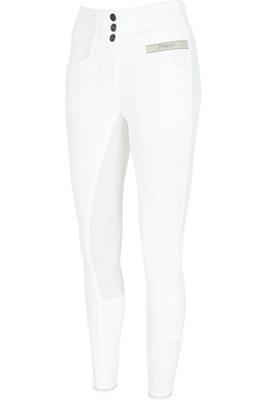 Pikeur Womens Candela Grip Breeches - White