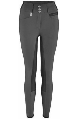 Pikeur Womens Candela Grip Breeches Grey / Black