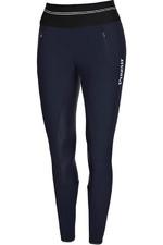 Pikeur Womens Gia Athleisure Grip Softshell Breeches Leggings Nightblue