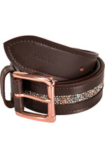Pikeur Womens Gliter Belt - Dark Brown