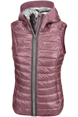 Pikeur Womens Hanny Hooded Gilet Fox Glove