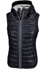 Pikeur Womens Hanny Hooded Gilet Navy