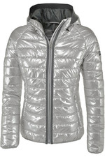 Pikeur Womens Hariet Hooded Jacket Silver