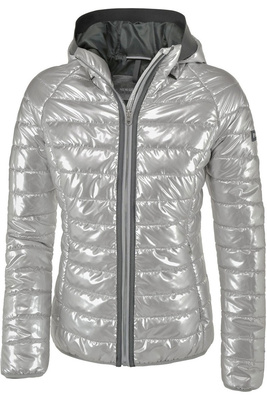Pikeur Womens Hariet Hooded Jacket Silver